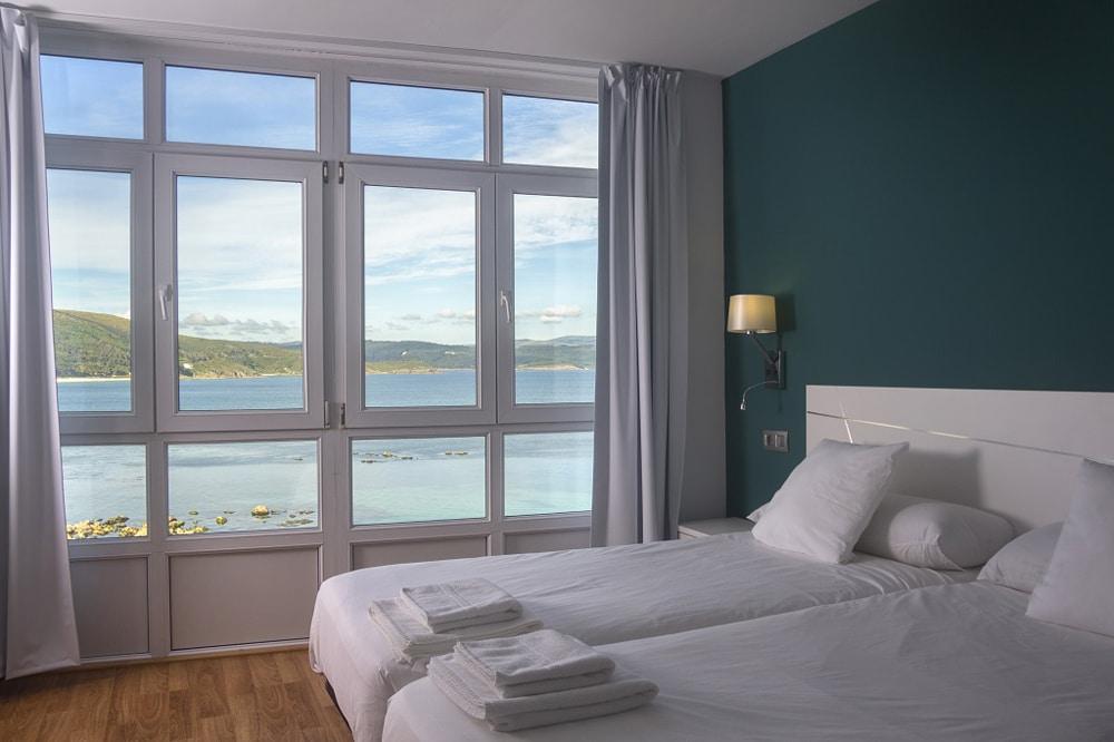 Habitaciones con vistas al mar