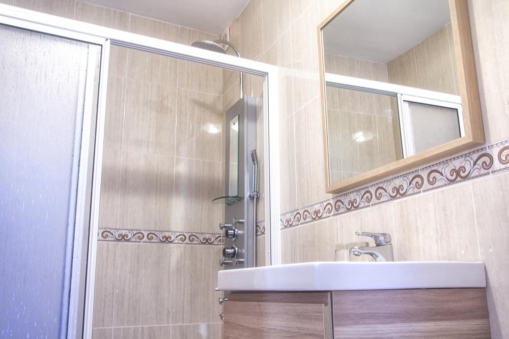 Baños de habitación en Hotel Mar de Fisterra